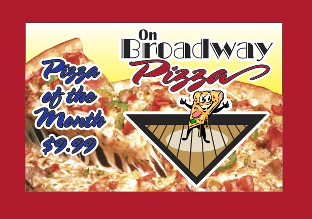 On Broadway Pizza Specials